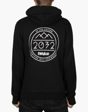 Thirty Two 2032 2016 Snowboard Pullover Hoodie - Black
