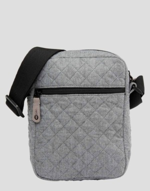 Mi-Pac Quillted Flight Bag - Grey