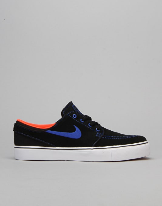 Nike SB Stefan Janoski Boys Skate Shoes - Black/Racer Blue/Crimson