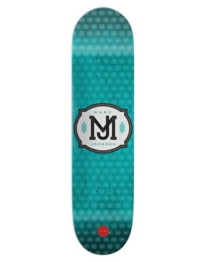 Chocolate Johnson Monogram Pro Deck - 8.125