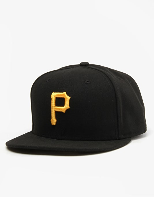 New Era 59Fifty MLB Pittsburgh Pirates Fitted Cap - Black/Yellow