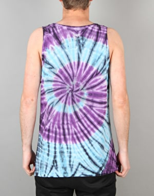 HUF Original Spiral Logo Vest - Blue/Purple