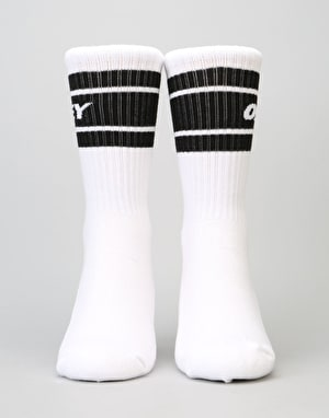 Obey Cooper II Socks - White/Black