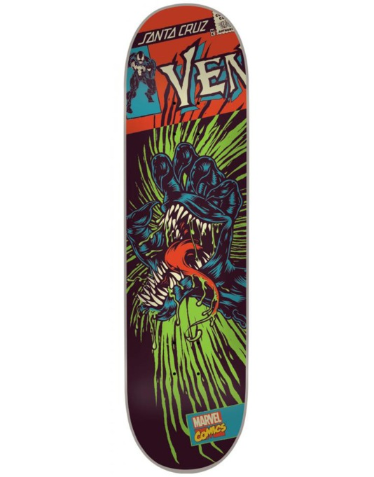 Santa Cruz x Marvel Comics Venom Hand Team Deck - 8.375""