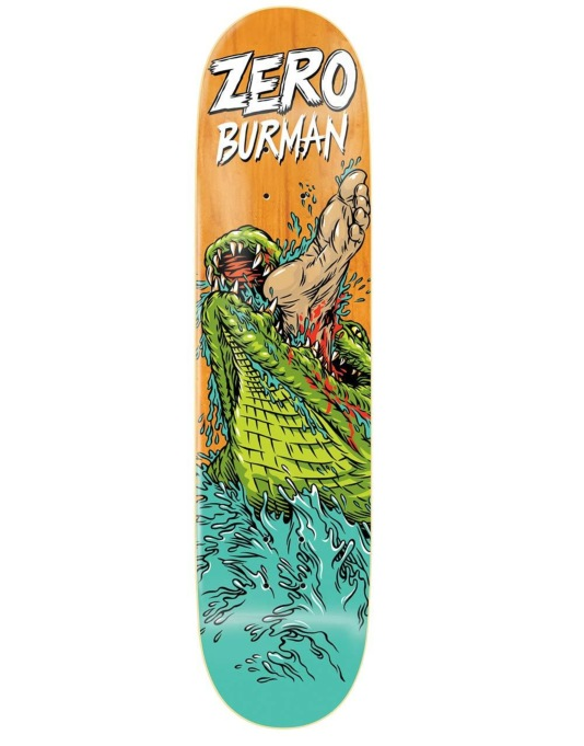 Zero Burman Animal Attack Impact Light Pro Deck - 8.375""