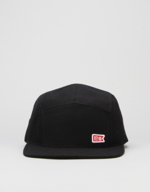 Element 92 Crew 5 Panel Cap - Black