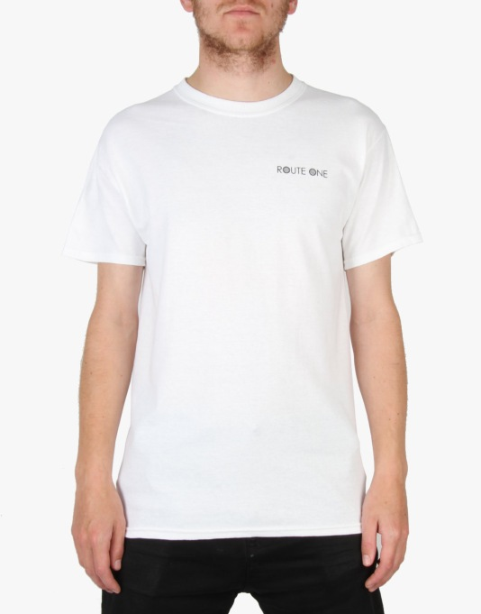 Route One Arthur T-Shirt - White