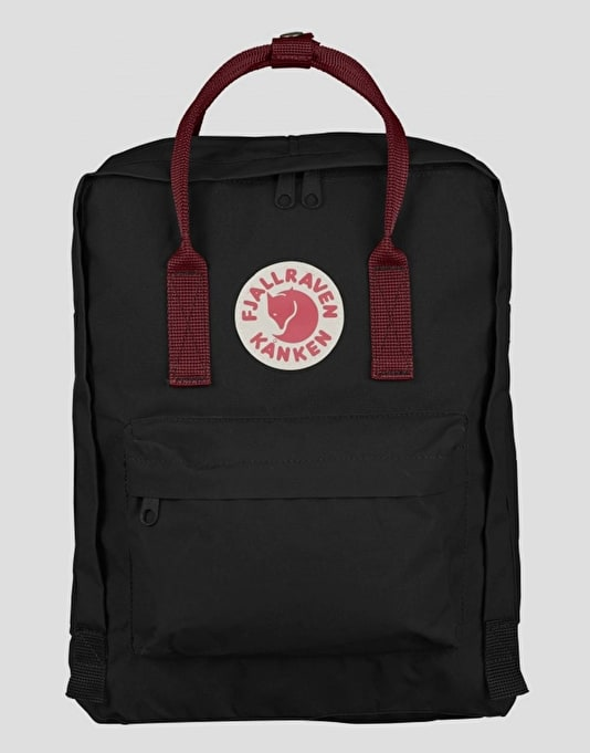 Fjällräven Kånken Backpack - Black/Ox Red