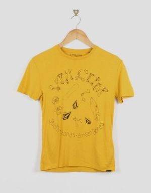 Volcom Board Boys T-Shirt - Yellow