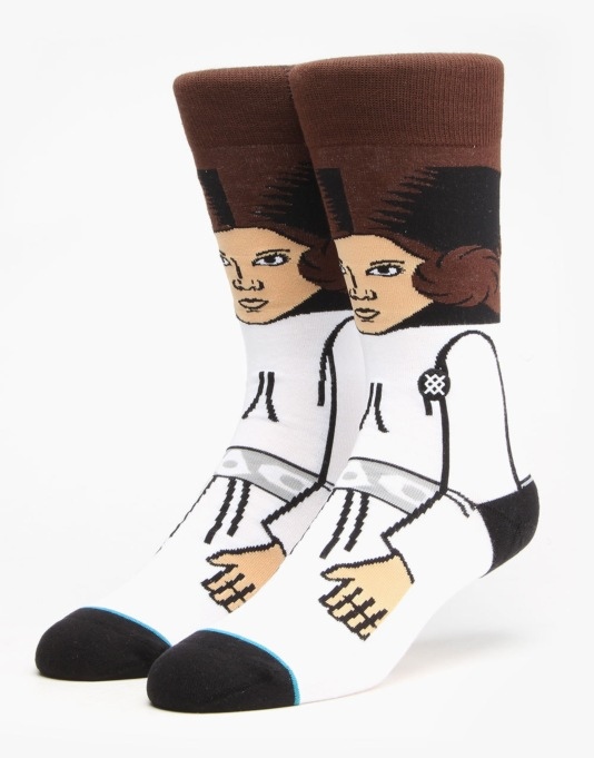 Stance x Star Wars Leia Socks - White