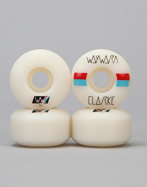Wayward Clarke Race Stripes 101a Regular Pro Wheel - 51mm