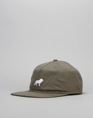 Hopps Lion Adjustable Fit Strapback Cap - Surplus