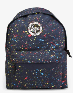 Hype Speckle Backpack - Navy Primary