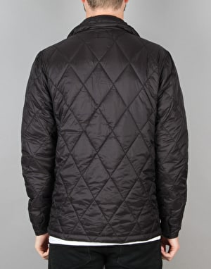 HUF Quilted Work Jacket - Black