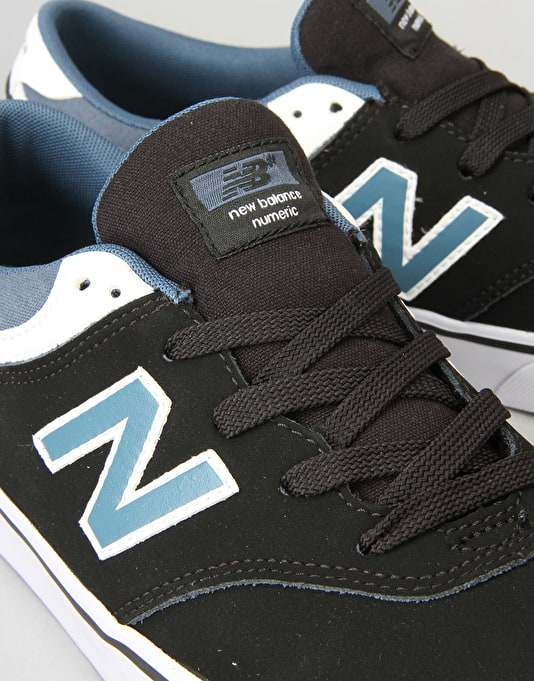 New Balance Numeric Quincy 254 Skate Shoes - Black/Slate Nubuck