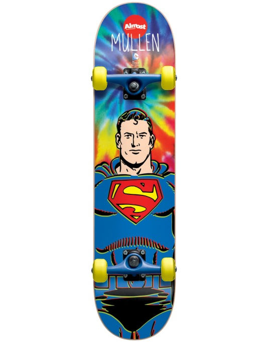 Almost x DC Comics Mullen Superman Tie Dye Mid Complete - 7.375""