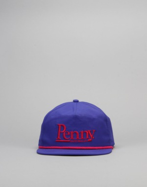 Penny Skateboards Snapback Cap - Purple/Red