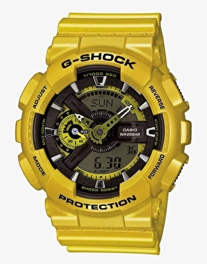 G-Shock GA-110NM-9A Watch - Neo Metallic Yellow