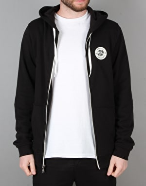 Etnies x Element Vison Serpent Zip Hoodie - Black