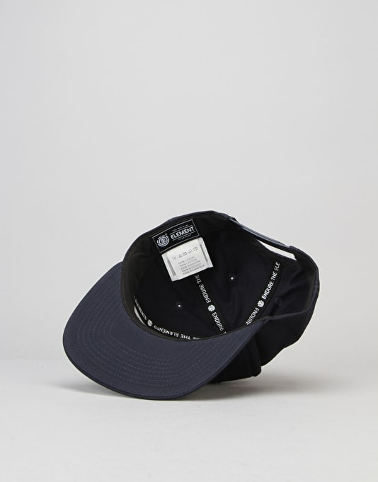 Element Knutsen Snapback Cap - Eclipse Navy