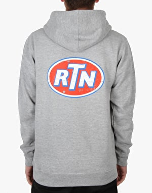 Route One Fuel Pullover Hoodie - Grey
