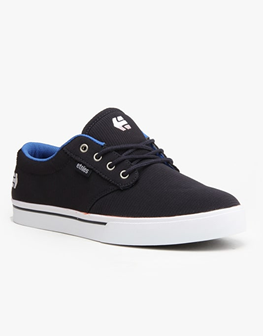 Etnies Jameson 2 Skate Shoes - Navy/Blue/White