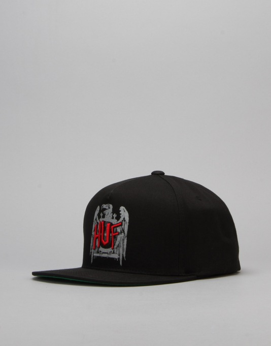 HUF x Ty Dolla $ign Vulture Snapback Cap - Black