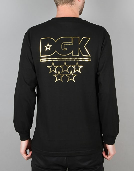 DGK All Star L/S T-Shirt - Black