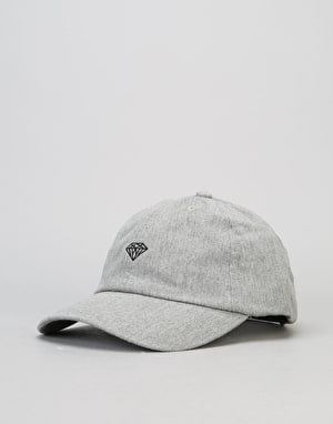 Diamond Supply Co. Brilliant Heathered Sports Strapback Cap - Charcoal