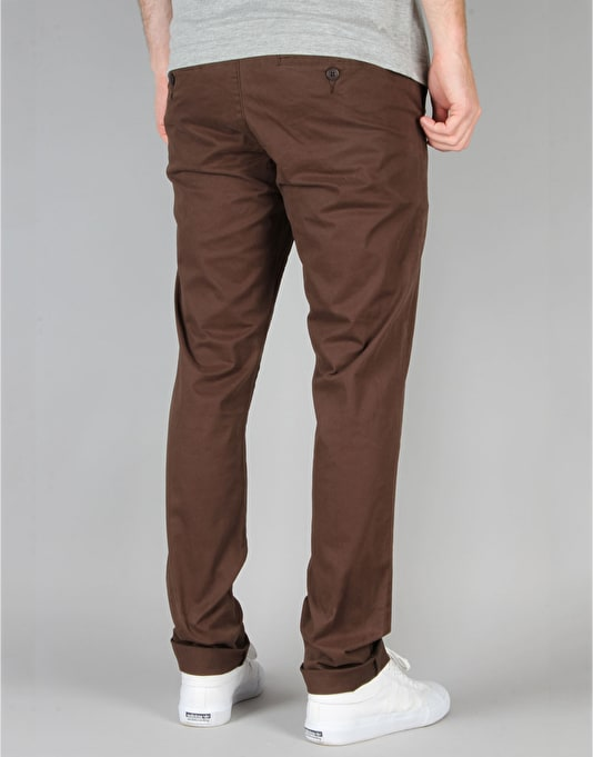 Globe Goodstock Chinos - Coffee