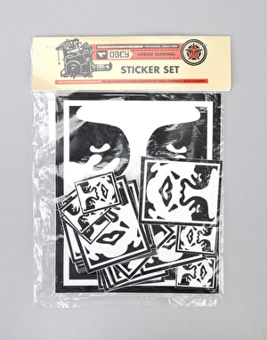 Obey Sticker Pack 2 Icon Face - Assorted