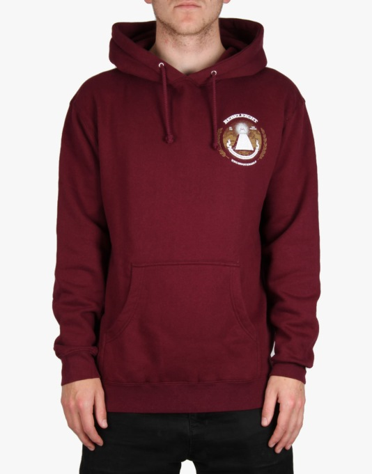 Rebel8 Root Of All Evil Pullover Hoodie - Maroon