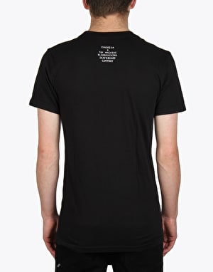 Emerica x Toy Machine Fists T-Shirt - Black