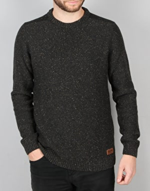 Volcom Oldon Crew Knit Sweater - Stealth