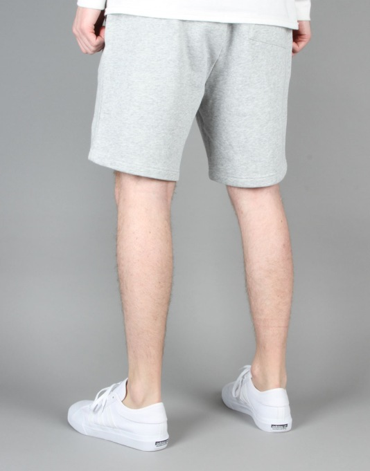 Diamond Supply Co. Tonal Brilliant Sweatshorts - Heather Grey