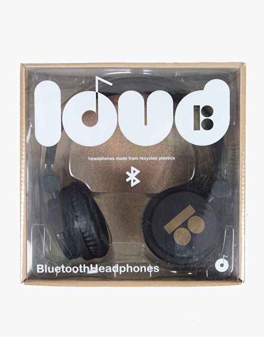 Loud x Plan B Bluetooth Headphones - Black