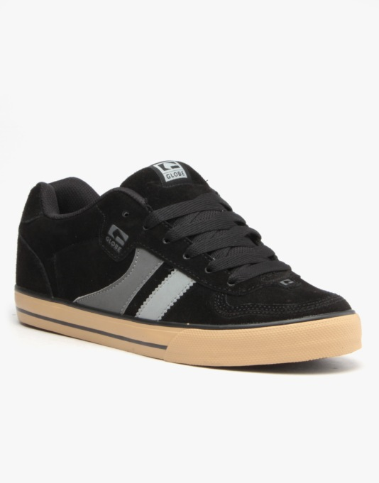 Globe Encore 2 Skate Shoes - Black/Charcoal