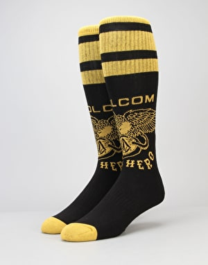 Volcom x Antihero Socks - Black