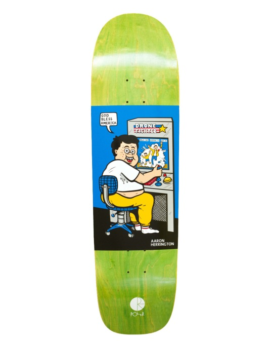 Polar Herrington Drone Fighter Pro Deck - P1 Shape 8.75""
