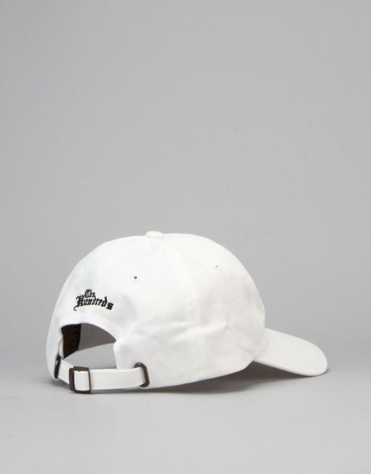 The Hundreds Fist Strapback Cap - White