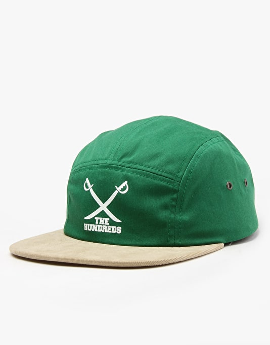 The Hundreds Fill 5 Panel Cap - Green