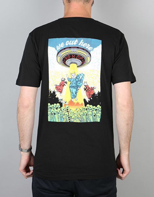 RIPNDIP Holy Lord Nermal T-Shirt - Black