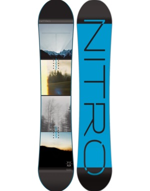 Nitro Team Exposure Gullwing 2016 Snowboard - 155