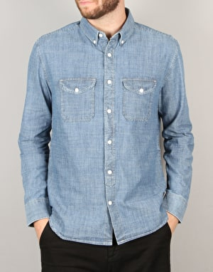DC Arrowood L/S Shirt - Indigo Chambray