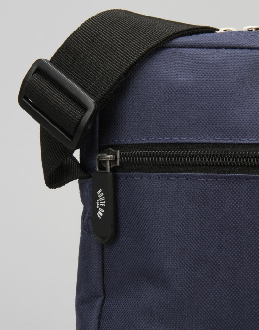 Route One Flight Cross Body Bag - Navy