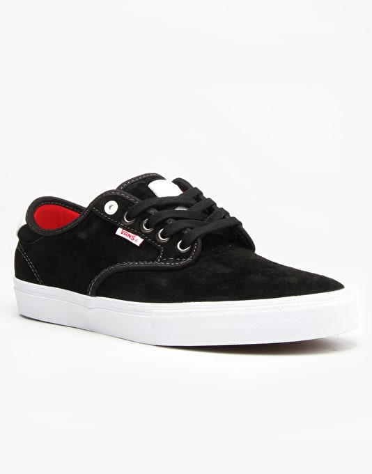 Vans x Real Skateboards Chima Pro Skate Shoes - Black