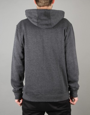 Vans Core Basics Zip Hoodie - Black Heather