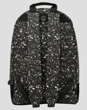Mi-Pac Maxwell Splattered Backpack - Black/White