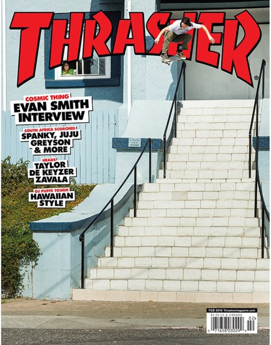 Thrasher Magazine Issue 427 February 2016