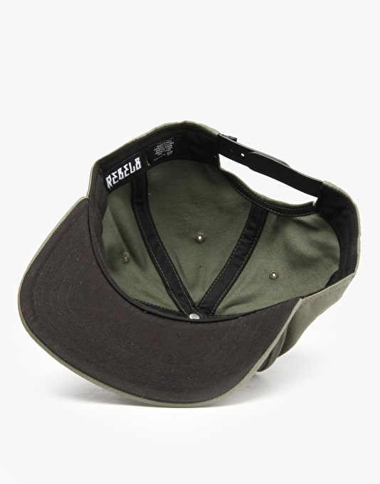Rebel8 Disciples Of The Eight Snapback Cap - Olive